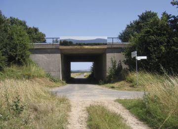 Zubringerbrücke zur A 661, Bad Homburg